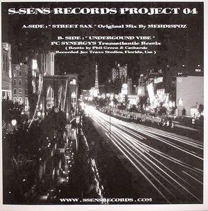 Mehdispoz - Street Sax / Underground Vibe