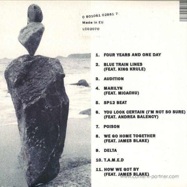 Mount Kimbie - Love What Survives (2LP/Gatefold) (Back)