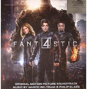 O.S.T. - Fantastic Four (2015) (Black/White marb. Vinyl)