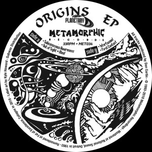 Planetary - Origins EP (Back)