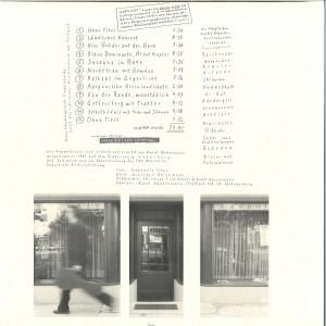 Ruedi Häusermann - Galerie Randolph (Limited Edition LP) (Back)