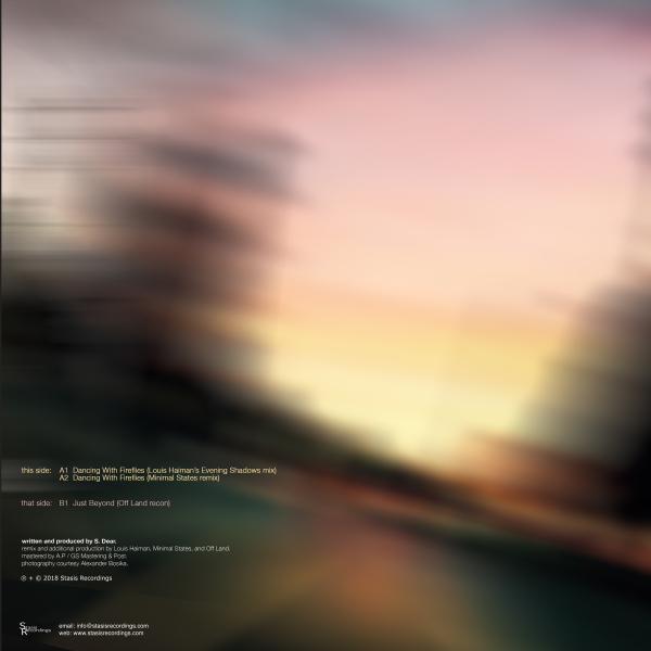 Sanderson Dear - Dancing With Fireflies (12'' Remixes) (Back)