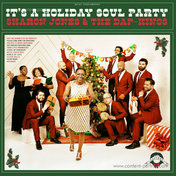 Sharon Jones & The Dap Kings - It's A Holiday Soul Party! (Red Vinyl!)