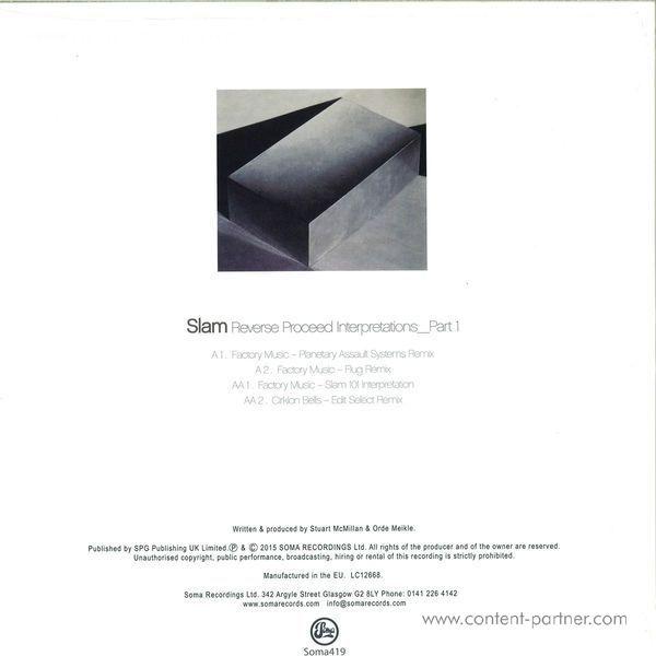 Slam - Reverse Proceed Interpretations Part 1 (Back)