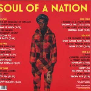 Soul Jazz Presents V.A. - Soul Of A Nation: Jazz Is the Teacher... (3LP) (Back)