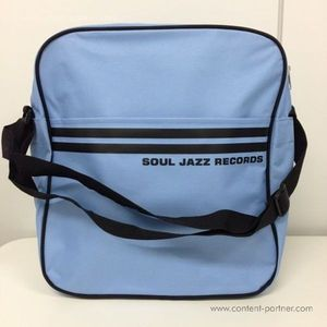 Soul Jazz Records Bag - Powder Blue/Black 12