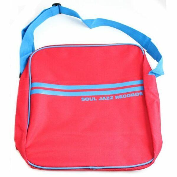 Soul Jazz Records Bag - Red/Blue 12
