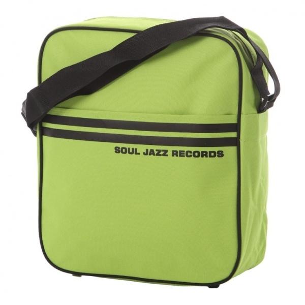 Soul Jazz Records Bag - Sage Green/Black 12