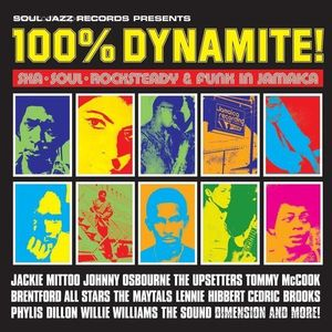 Soul Jazz Records Presents / V.A. - 100% Dynamite! (2LP)