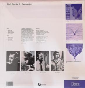 Stuff Combe - Stuff Combe 5 + Percussion (Ltd. 180g Reissue) (Back)