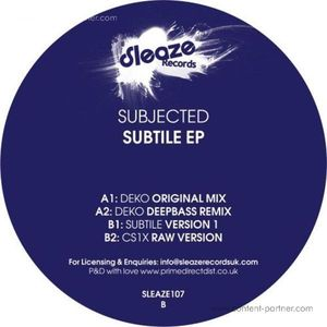 Subjected - Subtile EP