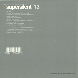 Supersilent - 13 (2LP+CD)