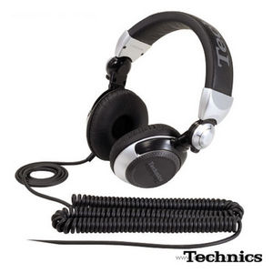 Technics Kopfhörer - RP-DJ 1210 (silber)