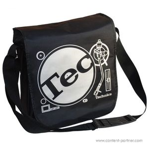 Technics Tec-Deck Messenger Bag - Black / Silver Bag