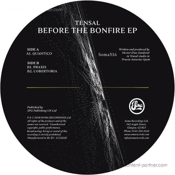 Tensal - Before The Bonfire Ep (Back)
