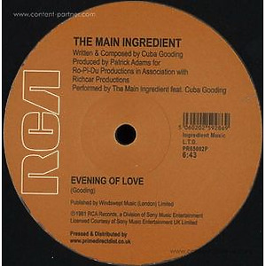 The Main Ingredient - Happiness Is Just Around The Bend / Evening Of Lov