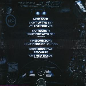 The Prodigy - No Tourists (Ltd. Clear Violet 2LP) (Back)