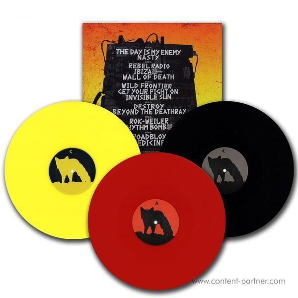 The Prodigy - The Day Is My Enemy (Ltd 3x12 Box) (Back)