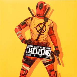Tyler Bates / OST - Deadpool 2 (Black Stripes On Red 180g LP)