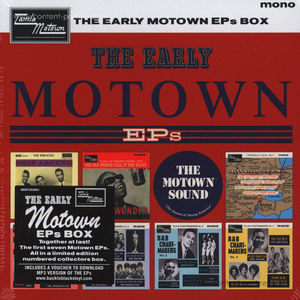 Various Artists - The Early Motown EPs Box Set