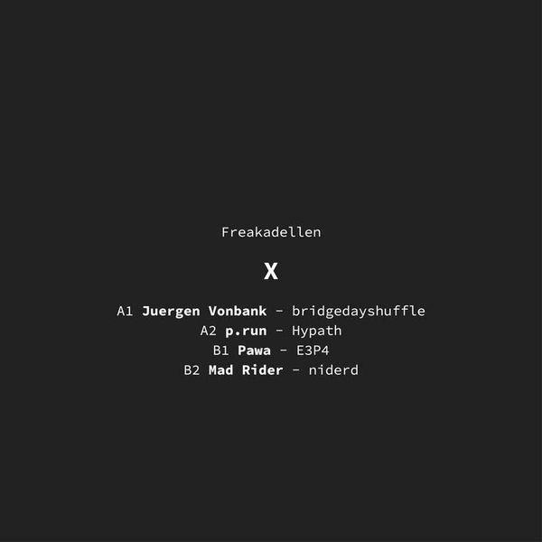 Various Artists - X (Back)