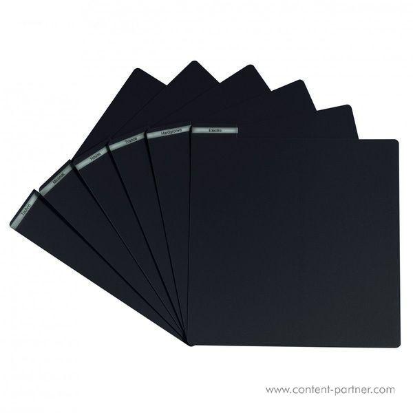 Vinyl Divider - Black Vinyl Divider