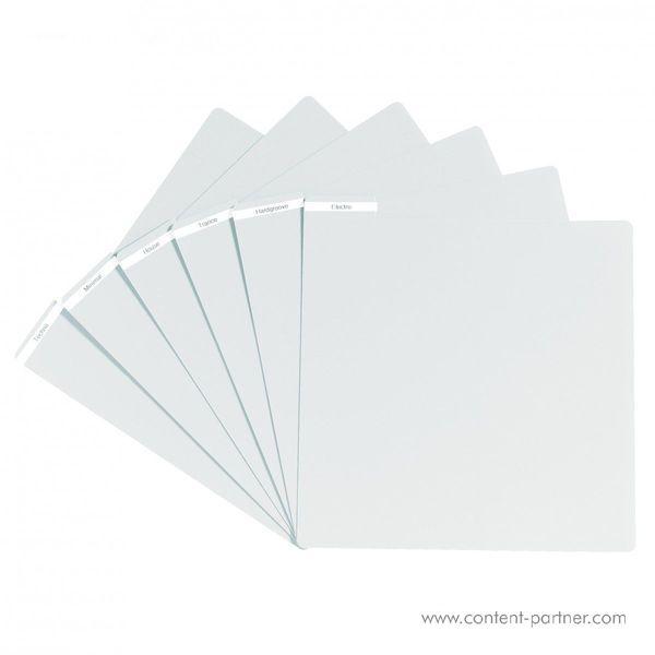 Vinyl Divider - White Vinyl Divider (Back)