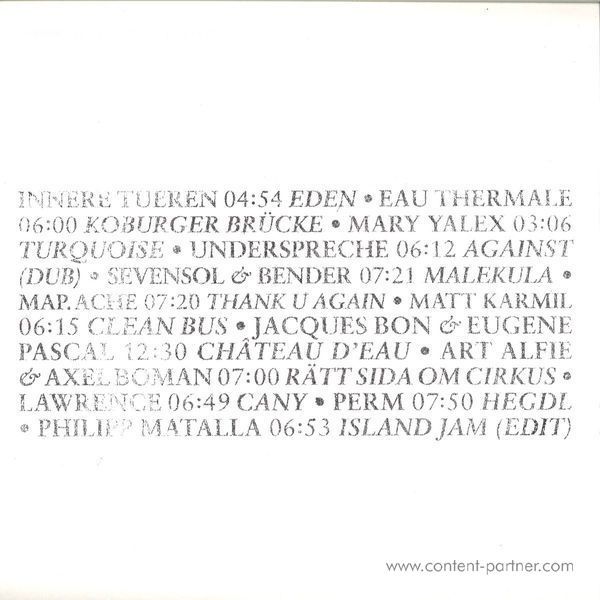 Various Artists - Family Horror X Good Times (3LP + Booklet) (Back)