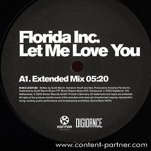 florida inc. - let me love you
