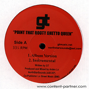 gt - point that booty ghetto queen