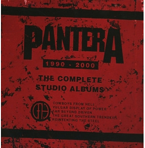 pantera - complete studio albums1990-2000,the