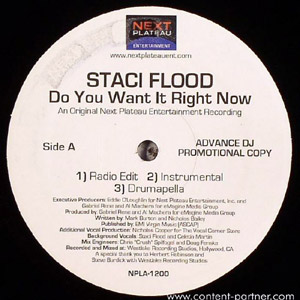 staci flood - do you want it right now