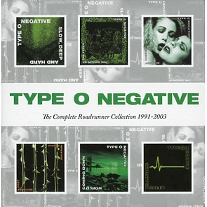 type o negative - complete roadrunner collection 1991-2003