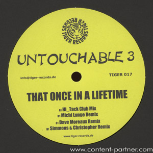 untouchable 3 - that once in a lifetime