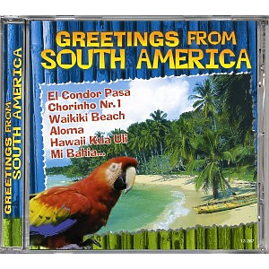 various - greetings from south america