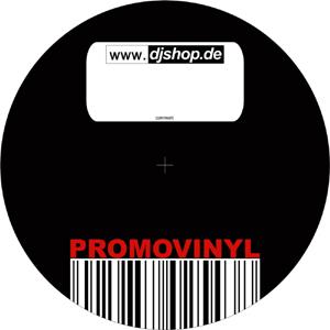vinyl blindling - promo vinyl aufkleber / djshop