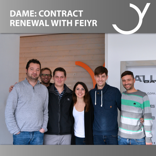 CONTRACT RENEWAL BETWEEN DAME AND FEIYR