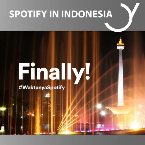 SPOTIFY LAUNCHED IN INDONESIA