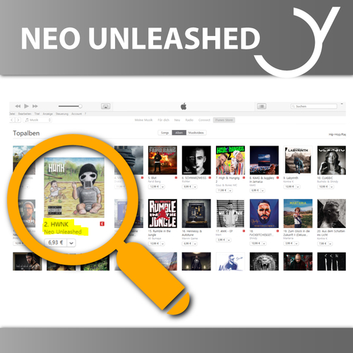 NEO UNLEASHED - iTUNES CHARTS
