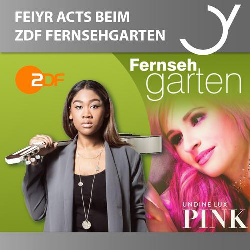 FEIYR-ARTISTS' GUEST APPEARANCE AT ZDF-FERNSEHGARTEN