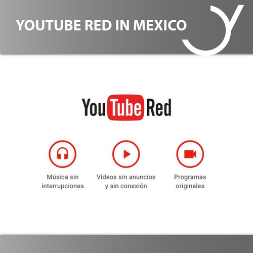 YouTube Red in Mexiko