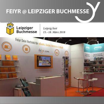 Feiyr auf der Leipziger Buchmesse 2018