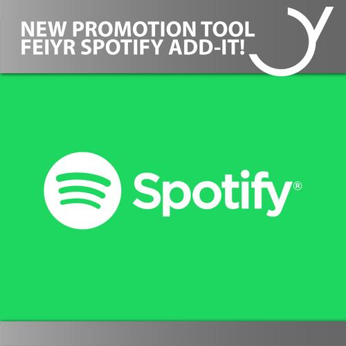 Neues Promotion Tool Feiyr Spotify Add-it!