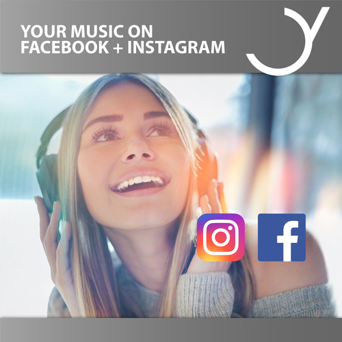 Your Music on Facebook & Instagram