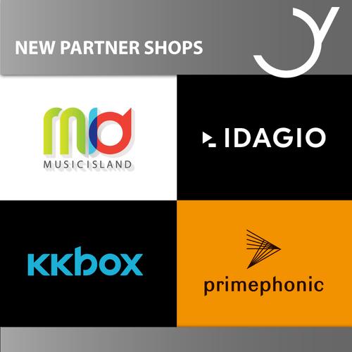 Neue Partnershops