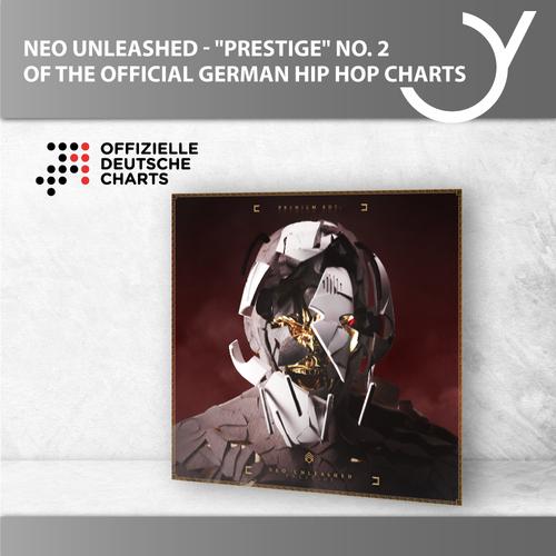 """Neueinstieg auf Platz 2 der offiziellen Hip Hop Charts für Neo Unleashed mit """"Prestige"""""""