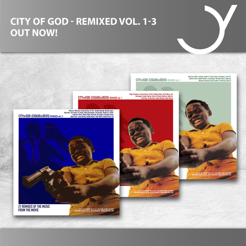 City of God Remixed Vol.1 bis Vol. 3 - OUT NOW!