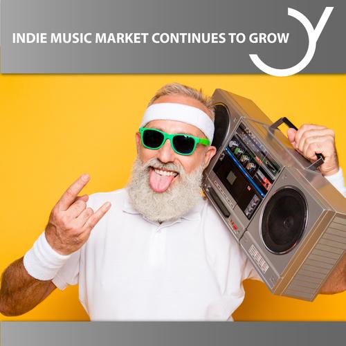 Indie Musikmarkt wächst weiter!