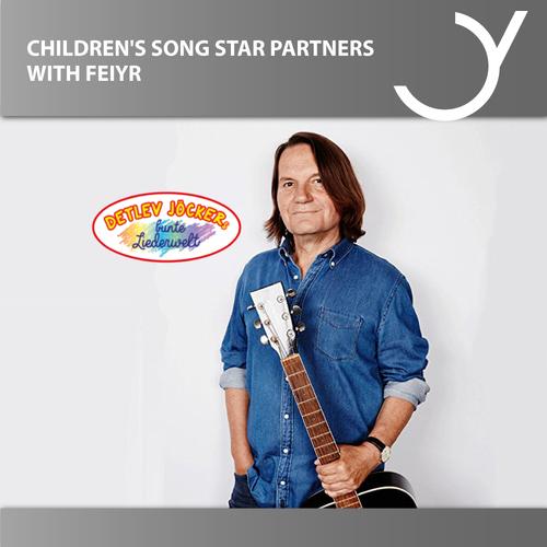 Children's Song Star Detlev Jöcker Partners with Feiyr