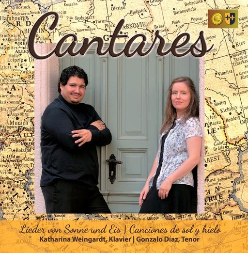 Gonzalo Diaz & Katharina Weingardt - Cantares - Lieder von Sonne und Eis